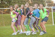 Rocking our Spandees spandex!