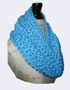 Infinity Scarf Cowl Long Hand Made in USA by 2SistersHandmade