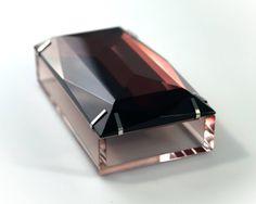 Silia Degradé Collection: Degradé Box aubergine - Also available in Charcoal! #plexiglass #lucite #home #design #adornment