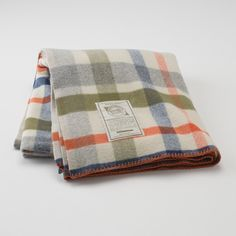 Patti Plaid Throw | Blankets + Throws | Bed + Bath