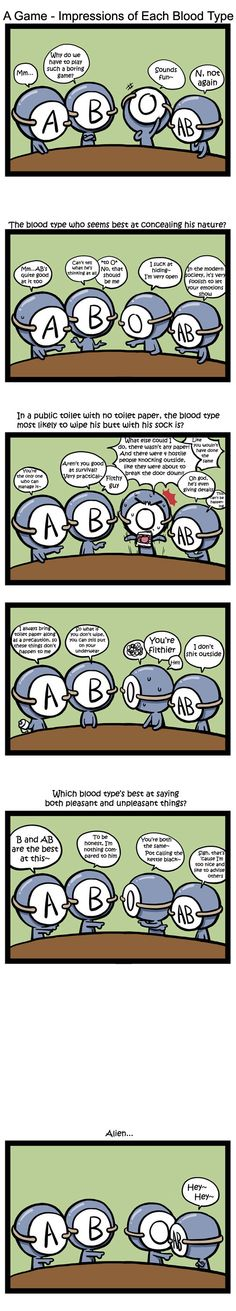 Blood Type Comics
