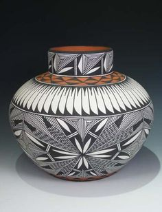 NATIVE AMERICAN POTTERY    by Corrine Chino