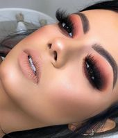 53 Best Smokey Eye Makeup Christmas You Will Like # fashionminis . - 53 Best Smokey Eye Makeup Christmas You Will Like # fashionminis - Makeup 101, Glam Makeup, Eye Makeup Glitter, Baddie Makeup, Cute Makeup, Makeup Goals, Gorgeous Makeup, Skin Makeup, Makeup Inspo