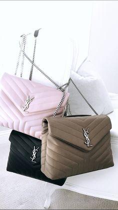 Saint Laurent Medium Loulou Monogram Chain Bag