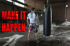 Make it happen !  #mma #ufc #boxing #crossfit #lifestyle #sportswear
