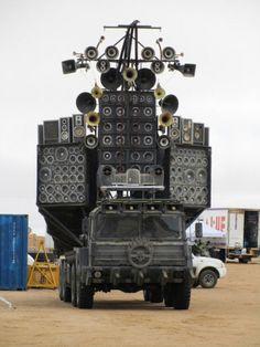 Speaker Truck