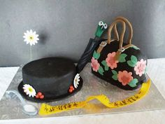 Second Generation Cake Design ~ Mary Poppins hat and carpet bag birthday cake