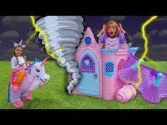 Las Ratitas con su nueva casa de princesas se visten con vestidos - YouTube Luna Youtube, Braided Hairstyles, Baby Car Seats, Lol, Children, Disney, Ceiling, Album, Beach