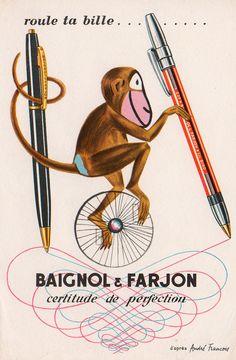 ¤ Baignol et Farjon, roule ta bille... by André Francois