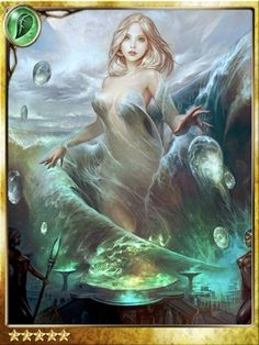 what type of game is legend of the cryptids | Legend Of The Cryptids Ocean Goddess Ylva Card in Legend Of The ...