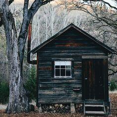 Tiny cabin | Anchor & Bolts #cabin #mountains #mountainlife