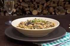 Slzavé houbové rizoto | Vím, co jím