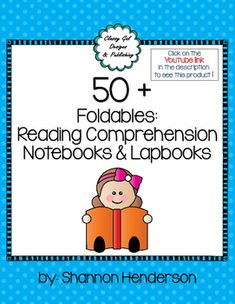 A variety of interactive graphic organizers for students to create individualized reading notebooks Interactive notebooks and lapbooks Reading Notebooks, Interactive Notebooks, Teaching Aids, Teaching Reading, Comprehension Strategies, Reading Comprehension, Text Evidence, Authors Purpose, Classroom Games
