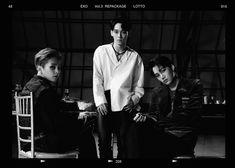Xiumin, Chen & Kai 'Lotto' teaser photo (My top 3 members of EXO  <3 )