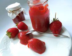Fotografie článku: Recept na jahodovou marmeládu krok za krokem Preserves, Pickles, Panna Cotta, Strawberry, Pudding, Fruit, Cooking, Ethnic Recipes, Desserts