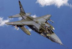 SEPECAT Jaguar, an Anglo-French jet attack aircraft. First flight Royal Air Force of Oman. Military Jets, Military Weapons, Military Aircraft, Jaguar, Fighter Aircraft, Fighter Jets, Equador Quito, Close Air Support, Indian Air Force