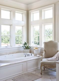 30 Calm And Beautiful Neutral Bathroom Designs | DigsDigs