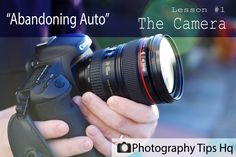 Beginner Photography Tips Lesson #1 The Camera- this really helped me understand, having just bought dslr.