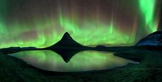 Stunning Aurora at Mount Kirkjufell in Iceland, for Angus!