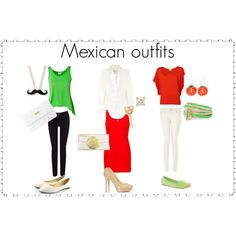 """""""mexican outfits"""" by deyani17 on Polyvore"""