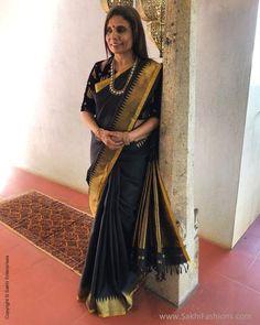Cutwork Saree, Banarsi Saree, Chiffon Saree, Saree Blouse, Sari, Saree Petticoat, Black Thunder, High Collar, Blouse Designs