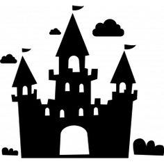 sticker Sticker chateau de princesse