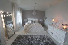 Coconut White: Makuuhuoneen joulua iltahämärässä
