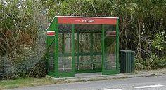 Busstop at Nylars