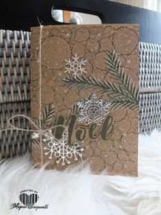 Magical Scrapworld: Noel, cards, catalogue 2017-2018, christmas, christmas pines, colorful seasons, Stampin' Up!, tree rings