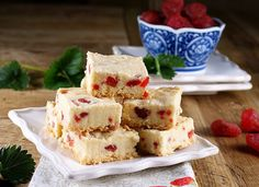 Shortbread Recipes  Thick Scottish Strawberry Shortbread - cuz I love Scotland  #holidayentertaining and #huffposttaste.
