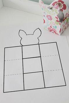 diy bunny basket http://loverofvintage.blogspot.co.nz/:
