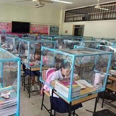Classroom Setup, Kindergarten Classroom, School Classroom, School Fun, Preschool Charts, Desk Dividers, Bollywood Funny, Sneeze Guard, School Items