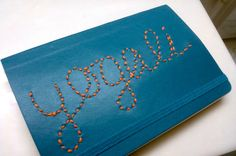 Embroidered Soft Cover Moleskine Journal. For the writers, artists, and dreamers. A hand-embroidered soft cover Moleskine journal to fill with all of your brilliant ideas, stories, and sketches. Email me at editedwithart@gmail.com to submit a request or for pricing info. Etsy shop coming soon!