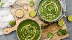 Krémovou polévku z listového špenátu připravíte opravdu během krátké chvilky a snadno tak připravíte uspokojivé jídlo, když vás začne honit hlad. Tahini, Eat Healthy, Palak Paneer, Soup, Tasty, Ethnic Recipes, Soups, Eating Healthy, Healthy Dieting