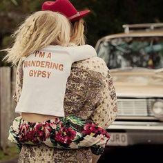 I am a wandering gypsy . Love It ! ❥