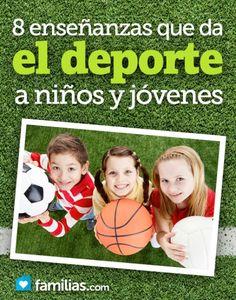 Ocho enseñanzas que da el deporte a niños y jóvenes