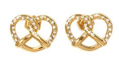 Marc by Marc Jacobs Salty Pretzel Studs  Hungry for Fall!