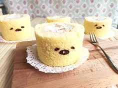 Gudetama mandarin orange cake roll