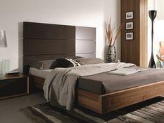 Dormitorio en nogal americano y lacado en alto brillo mod: LOTO