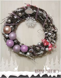 Christmas wreath !
