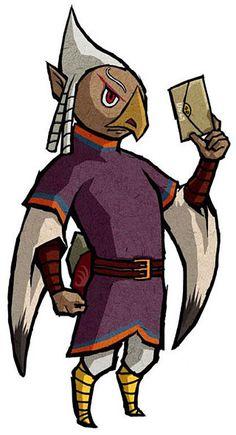 Quill - Legend of Zelda: Wind Waker