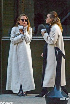 Mary-Kate and Ashley Olsen Smoking in NYC 2015 Pictures | POPSUGAR Celebrity