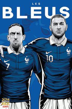 I poster per i Mondiali di ESPN - Il Post
