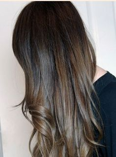 Light ash brown hair dye on black hair
