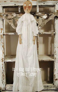 Primitive Folk Art Angel