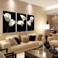 cuadro de sala moderna