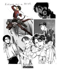 """""""Levi Ackerman"""" by kamileo ❤ liked on Polyvore featuring art"""