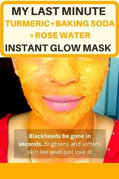 You could use 1, just one simple DIY face mask recipe for every last minute plans? That for me is, my baking soda and rose water face mask with Turmeric. If you've visited my blog before, you would…
