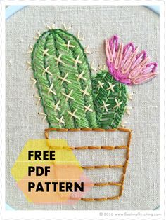 There's a new Free PDF Pattern available! You know what that means: go snag it while you can! Am I correct in sensing you want a bunch of succulent patterns?  D