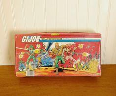 Vintage G I Joe Action Figure Collectors by HipCatRetroVintage